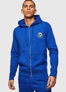 UMLT-BRANDON-Z, Brillantblau - Sweatshirts