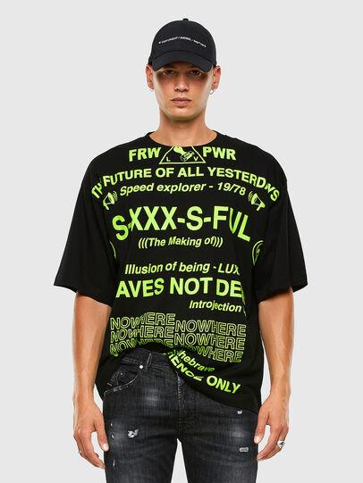 Diesel - T-BALL-X2, Schwarz - T-Shirts - Image 4