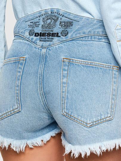 Diesel - DE-BATY-SP, Bleu Clair - Shorts - Image 3