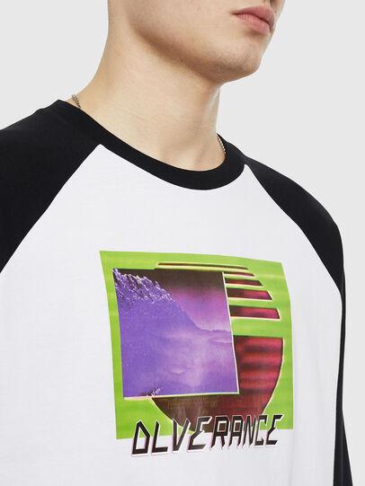 Diesel - T-RODDI, Weiß/Schwarz - T-Shirts - Image 3