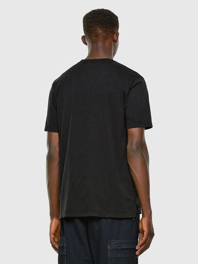 Diesel - T-JUBIND-SLITS, Schwarz - T-Shirts - Image 5