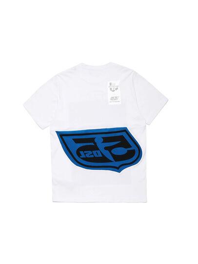 Diesel - D-SHIELD-BLU, Weiß - T-Shirts - Image 2