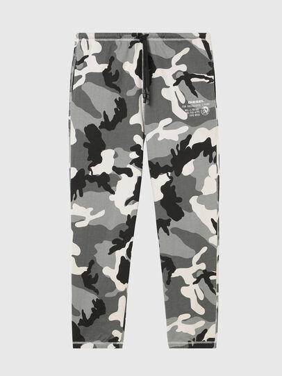 Diesel - UMLB-PETER, Grey/Black - Pants - Image 1