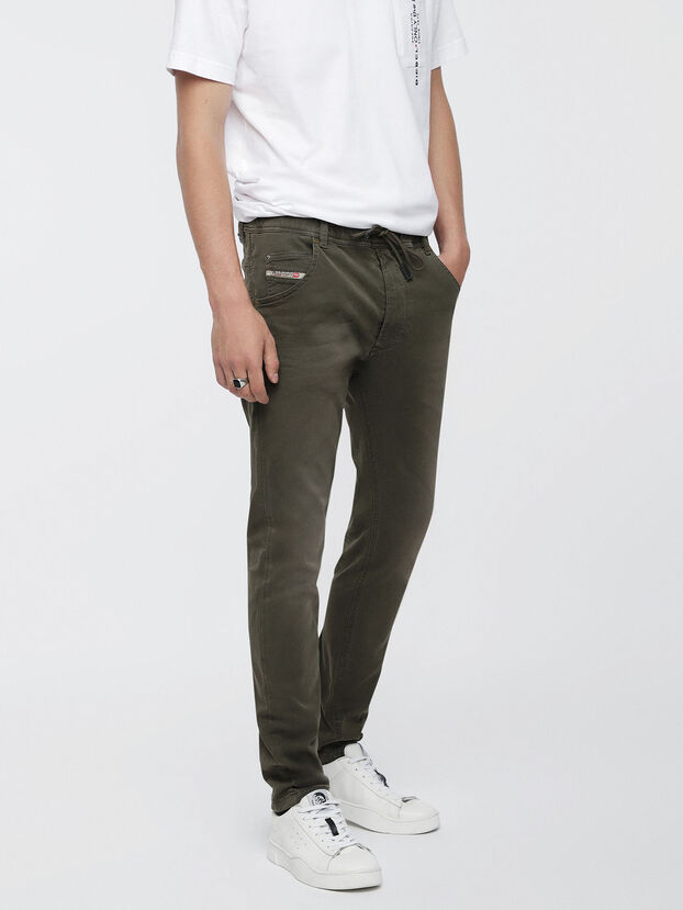 Krooley JoggJeans 0670M, Armeegrün - Jeans