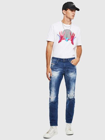 Diesel - Thommer JoggJeans 0099S, Dunkelblau - Jeans - Image 6