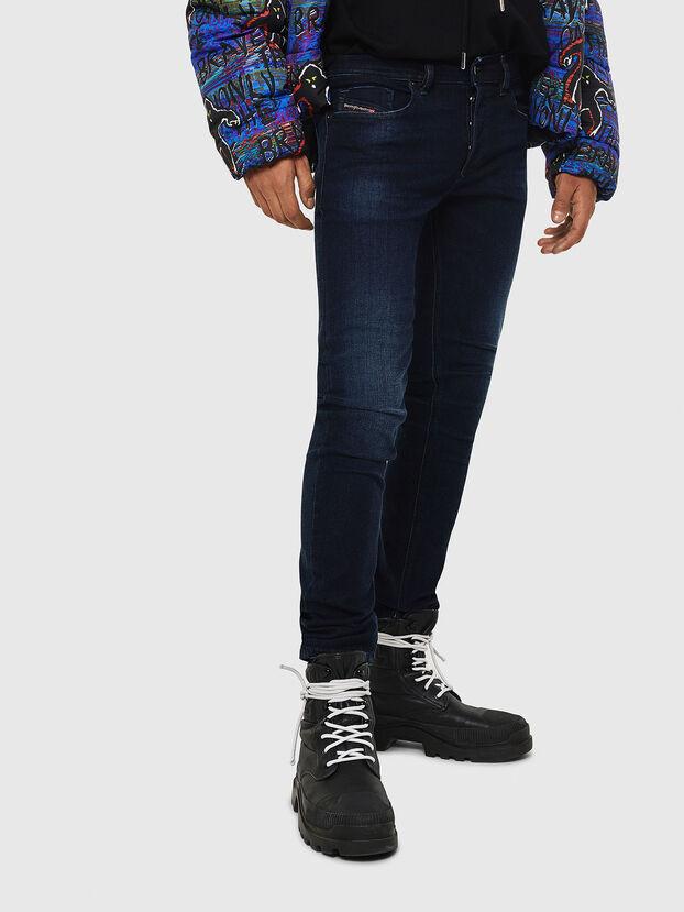 Sleenker 083AG, Dunkelblau - Jeans