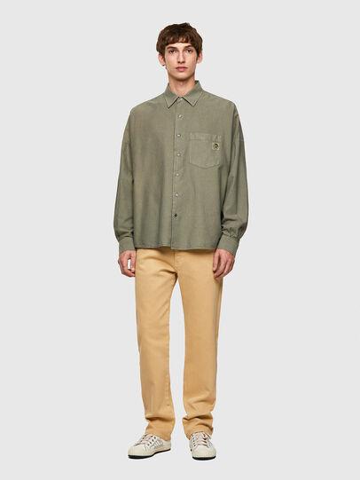 Diesel - S-LOOMY-B, Verde Militare - Camicie - Image 4