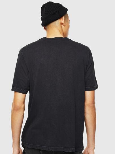 Diesel - T-JUST-J3, Schwarz - T-Shirts - Image 3