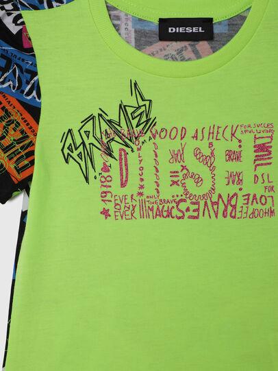 Diesel - TAIRB-R, Vert/Noir - T-shirts et Hauts - Image 3