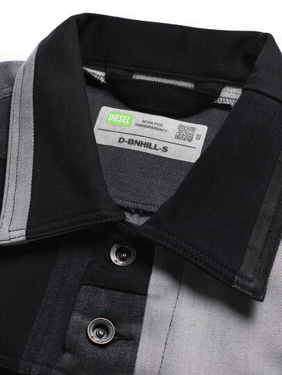 Diesel - D-BNHILL-S, Schwarz - Sweatshirts - Image 6