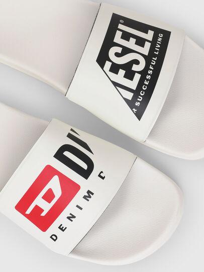 Diesel - SA-MAYEMI PW, Blanc - Claquettes - Image 5