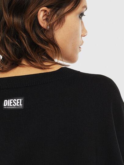 Diesel - M-OCIAME, Schwarz - Strickwaren - Image 5