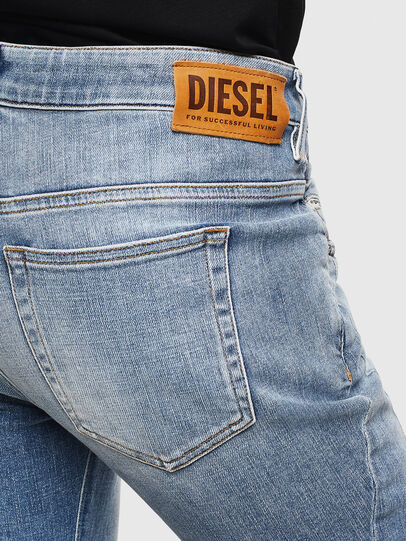 Diesel - Fayza 0099M, Mittelblau - Jeans - Image 4