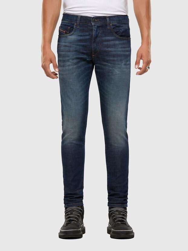 D-Strukt 009GQ, Dunkelblau - Jeans