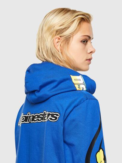 Diesel - ASTARS-T-JUSTOOD-FL, Blau - T-Shirts - Image 4