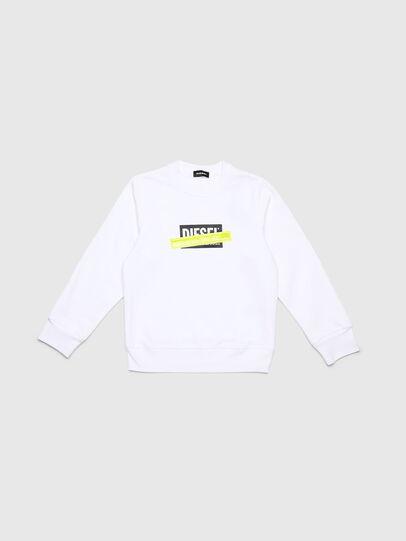Diesel - SGIRDIE, Weiß - Sweatshirts - Image 1