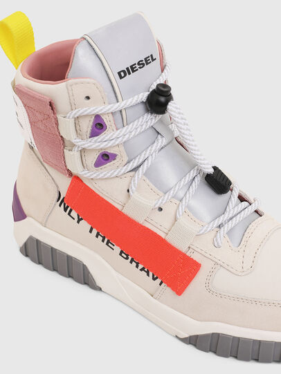 Diesel - S-RUA MID SP W, Weiß - Sneakers - Image 4