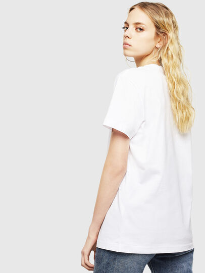 Diesel - T-DIEGO-DIV, Weiß - T-Shirts - Image 4