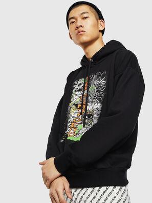 S-ALBY-D1, Schwarz - Sweatshirts