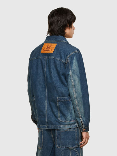 Diesel - D-ROLK-SP, Blue - Denim Jackets - Image 2