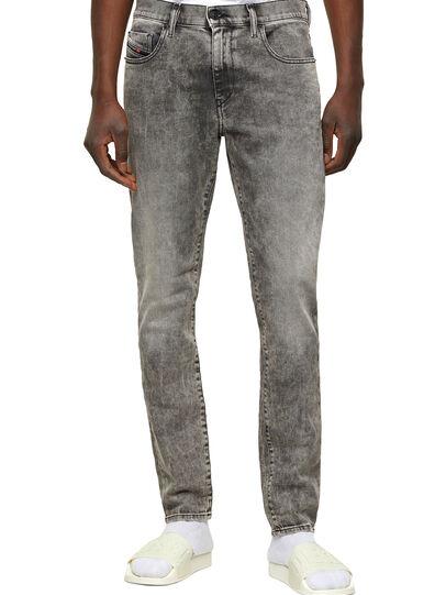 Diesel - D-Strukt 009KA, Gris Clair - Jeans - Image 1