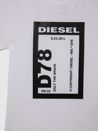 Diesel - TFULL78, Bianco - T-shirts e Tops - Image 3