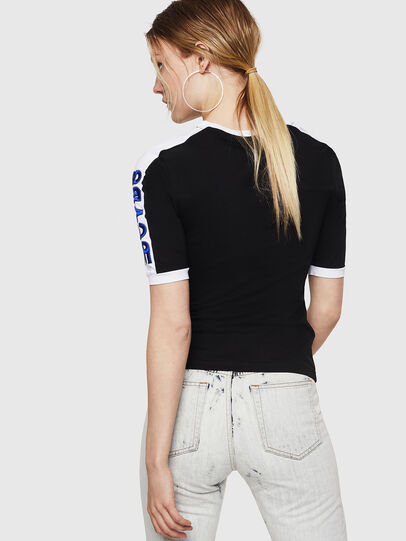 Diesel - T-HEIA-A, Schwarz - T-Shirts - Image 2