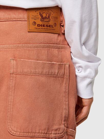 Diesel - D-FRANKY-SHORT-SP, Orange - Shorts - Image 4