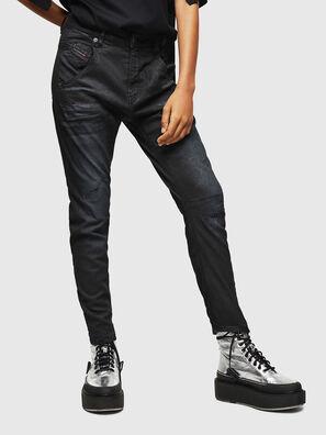 Fayza JoggJeans 069GP, Schwarz/Dunkelgrau - Jeans
