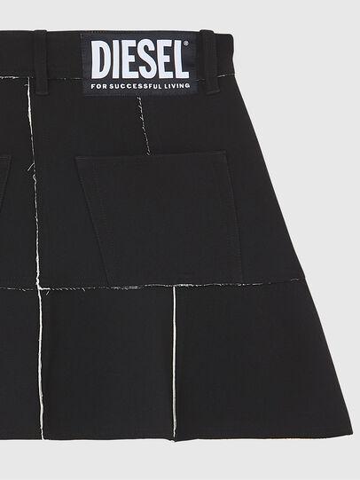 Diesel - O-BETH-B, Schwarz - Röcke - Image 4