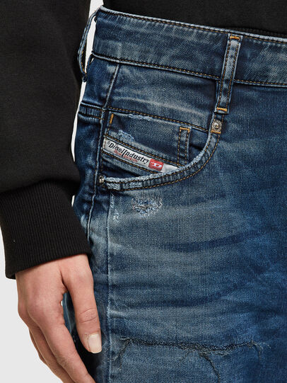 Diesel - Fayza JoggJeans® 069SZ, Blu Scuro - Jeans - Image 4