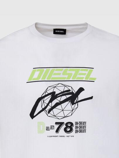 Diesel - T-DIEGOS-K34, Weiß - T-Shirts - Image 3