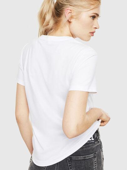 Diesel - T-SILY-WMA, Weiß - T-Shirts - Image 2