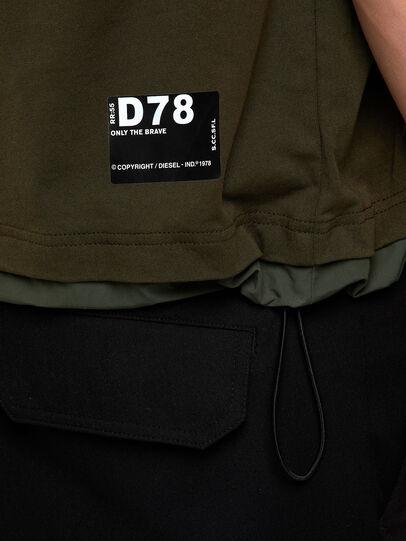 Diesel - T-ARMI, Olivgrün - T-Shirts - Image 4