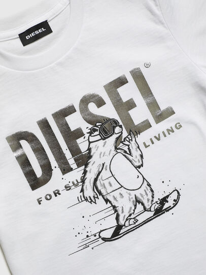 Diesel - TBEAR-TSE, Weiß - T-Shirts und Tops - Image 3
