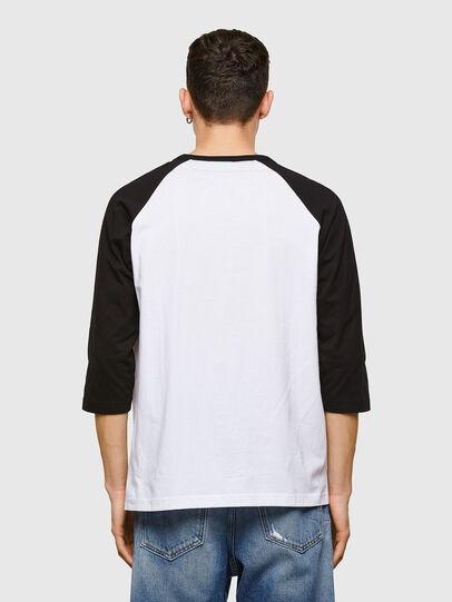 Diesel - T-BEISBOL, Bianco - T-Shirts - Image 2