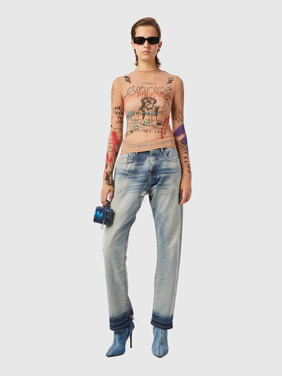 Diesel - T-SIELY, Rose Poudré - T-Shirts - Image 4