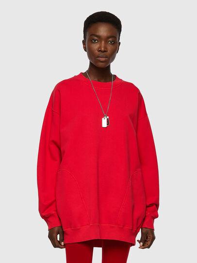 Diesel - F-EXA, Red - Sweaters - Image 1