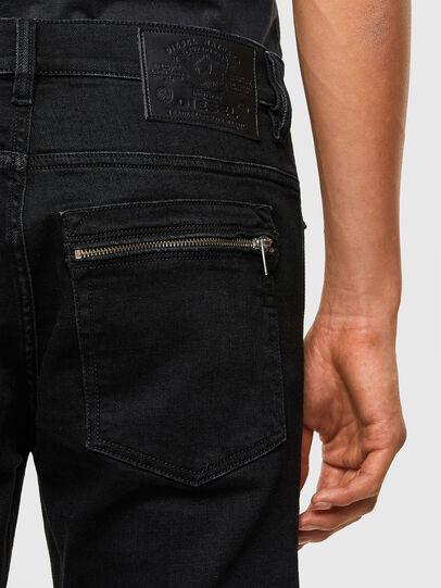 Diesel - D-Amny 009RB, Schwarz/Dunkelgrau - Jeans - Image 4