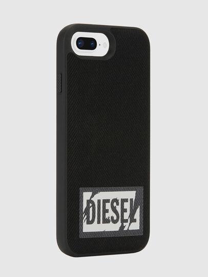 Diesel - BLACK DENIM IPHONE 8 PLUS/7 PLUS/6S PLUS/6 PLUS CASE, Schwarz - Schutzhüllen - Image 5