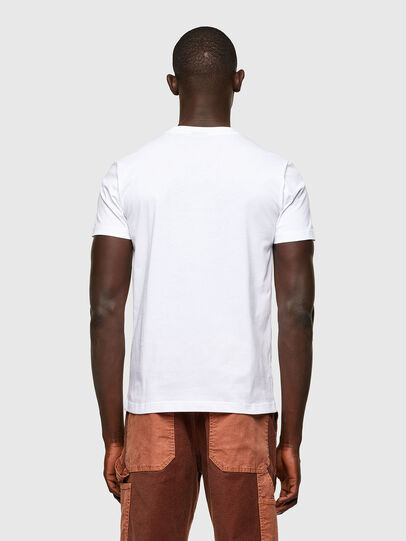 Diesel - T-DIEGOS-A2, Bianco - T-Shirts - Image 2