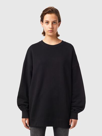Diesel - F-GULLY-B1, Black - Sweaters - Image 1