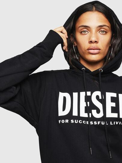 Diesel - F-GIR-HOOD-DIV-LOGO-,  - Sweatshirts - Image 5