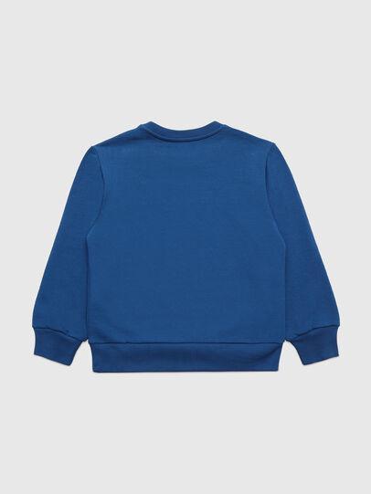 Diesel - SCOLIGCODE OVER, Bleu - Pull Cotton - Image 2