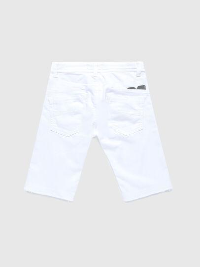 Diesel - DARRON-R-J SH-N JOGGJEANS, Bianco - Shorts - Image 2