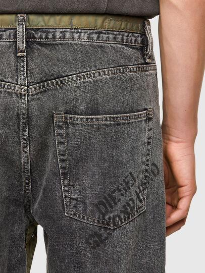 Diesel - DxD-P2 0CBBH, Nero/Grigio scuro - Jeans - Image 4