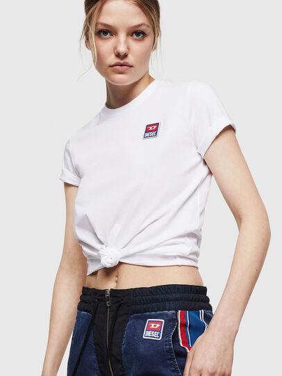 Diesel - T-SILY-ZE, Weiß - T-Shirts - Image 4