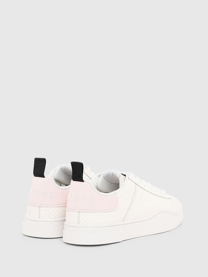 Diesel - S-CLEVER LOW LACE W, Weiß/Rosa - Sneakers - Image 3