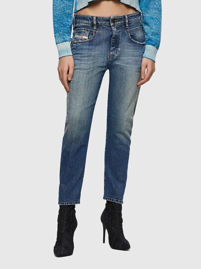 Diesel - Fayza 09A08, Blu medio - Jeans - Image 1