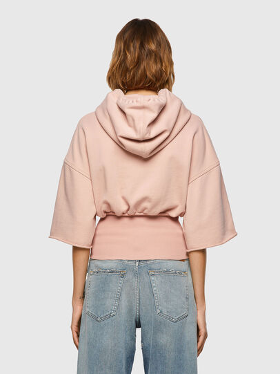 Diesel - F-BELTY, Rose Poudré - Pull Cotton - Image 2